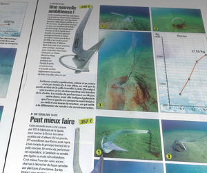 Voile Magazine «14 ancres sous haute tension» May 2012: Spade, Rocna, FOB Ro