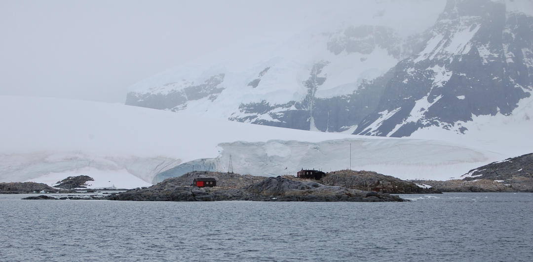 Antarctica photo journal 6 cuverville island water for Port lockroy