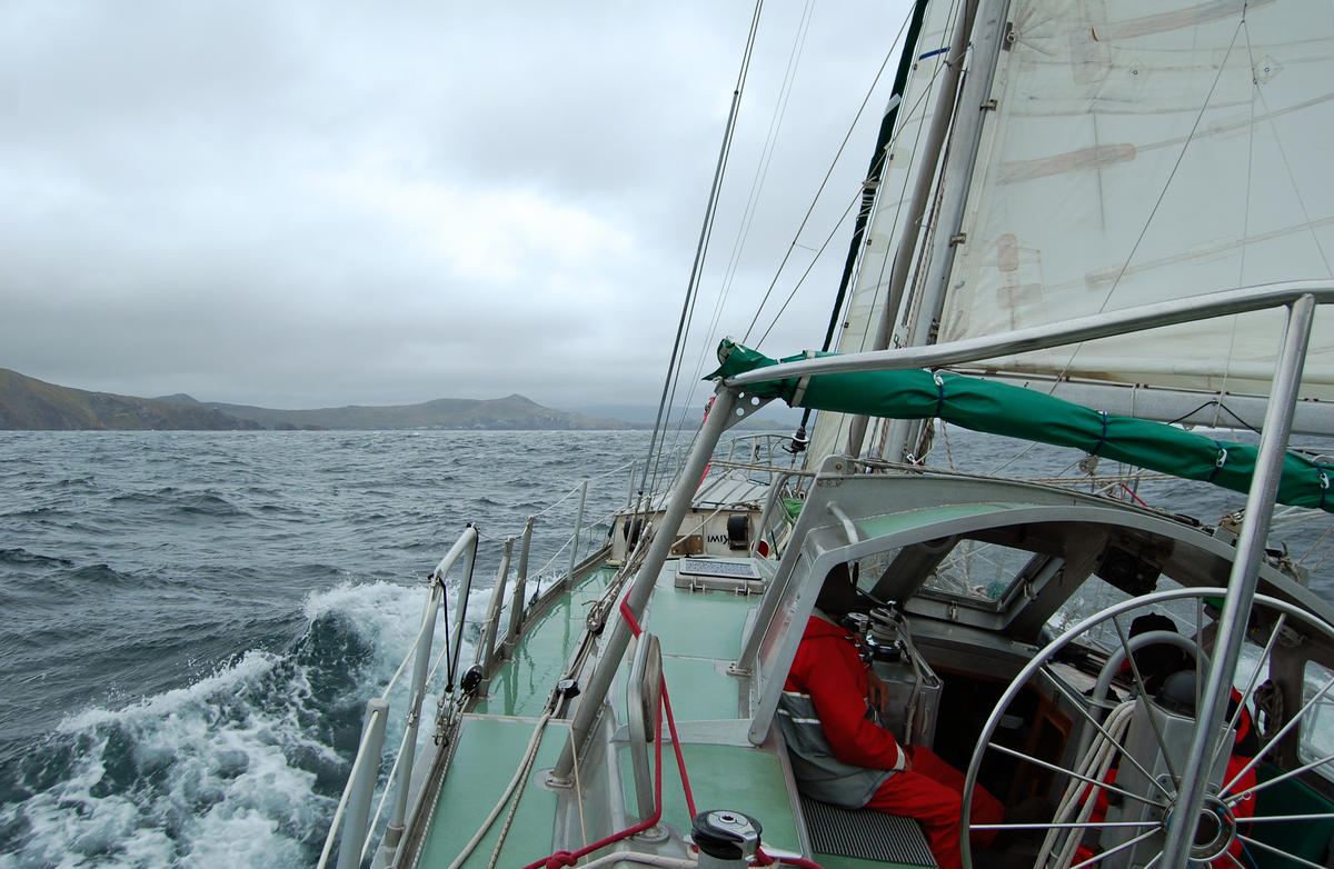 Approaching Cape Horn