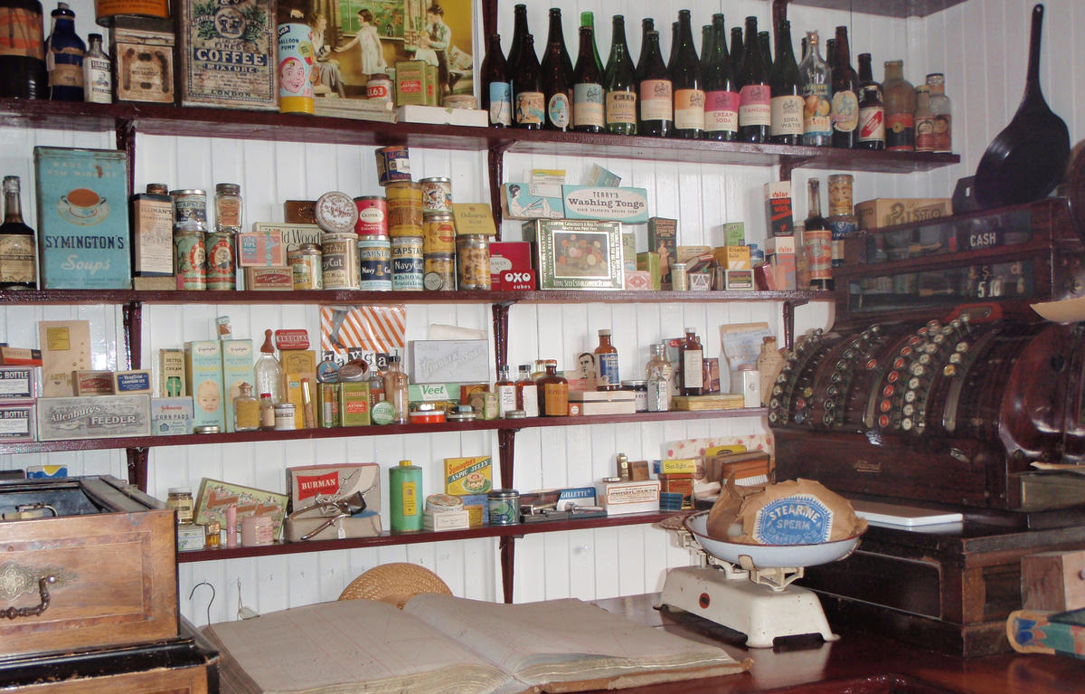 Britannia House Museum old shop
